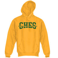 CHES Adult Hoodie Gold Thumbnail