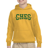 CHES Youth Hoodie Gold Thumbnail